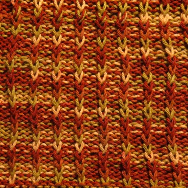 Stitch Pattern Dishcloth
