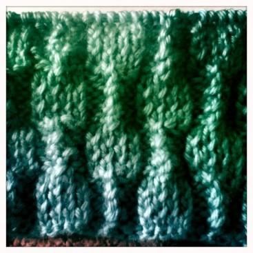 Second in progress baby blanket.