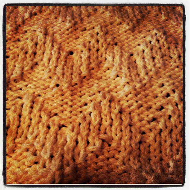 The Chevron Stitch
