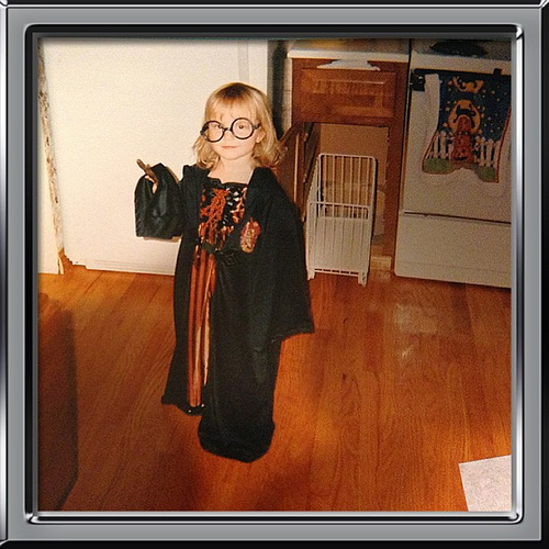 My Munchkin as Harry Potter - Age 4.