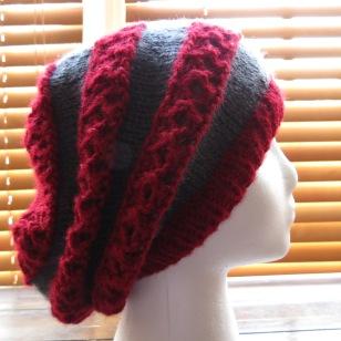 Mostly Red OSU Buckeye Hat
