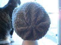 Spiraled Back of Hat