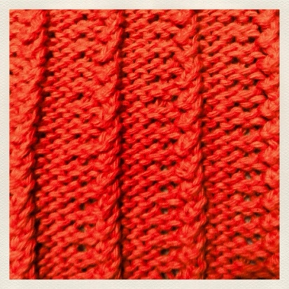 Broken Rib Stitch