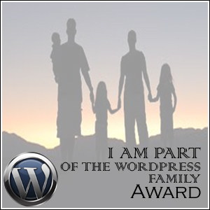 The WordPress Family Award.