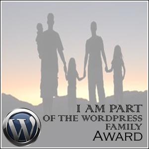 The WordPress Family Award.