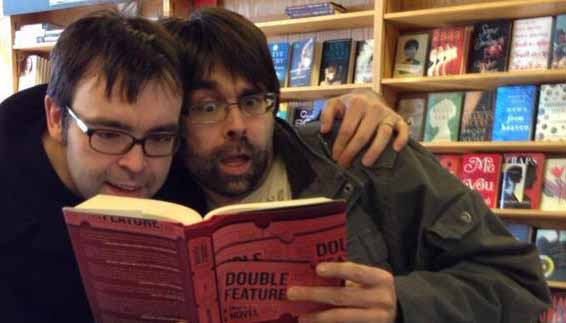 "Joe Hill and author Owen King read ""Double Feature""."