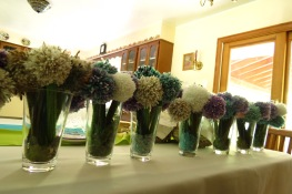 100 Knitted Flowers for Mom and Dad's 30th Wedding Anniversary!