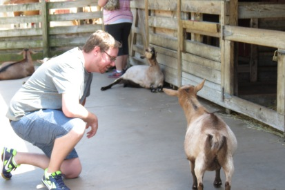 Trevor Meets His Soul Mate - In Goat Form.