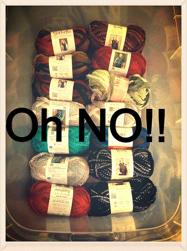 28 Skeins of Ruffle Yarn.