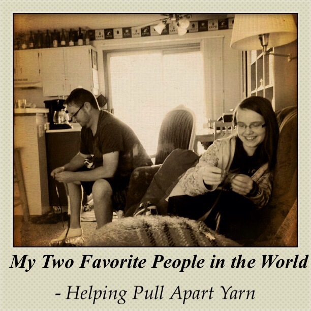 Trevor and Alissa and Yarn