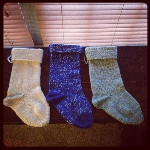 First 3 stockings.
