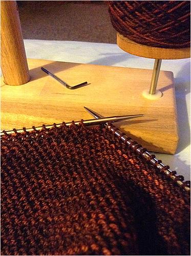 The yarn is oh so pretty.