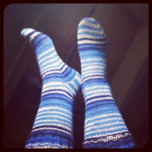 Singin' the Blues Socks