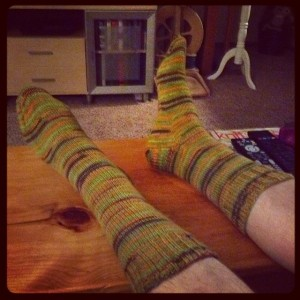 Neon Gum ball Socks