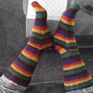 Plymouth Stiletto Sparkly Socks.